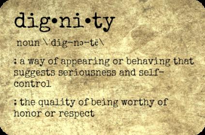 dignity def